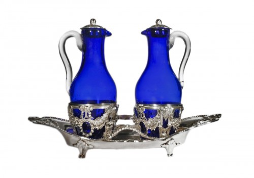 Vinegar cruet in sterling silver by Ange-Jacques MASSÉ, Paris, 18th century