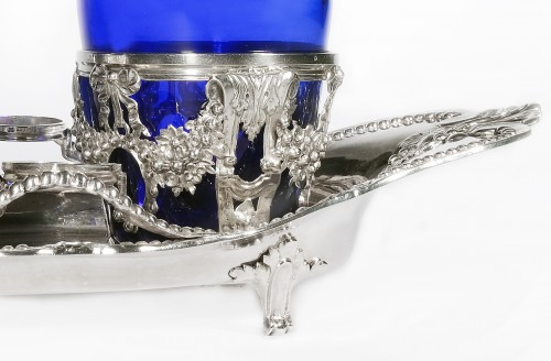 Antiquités - Vinegar cruet in sterling silver by Ange-Jacques MASSÉ, Paris, 18th century