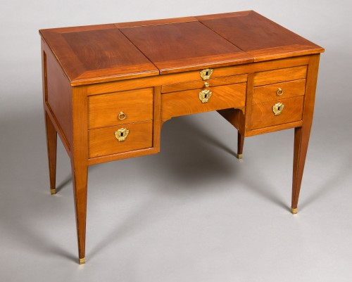 Louis XVI coiffeuse by Étienne AVRIL, 18th century - Furniture Style Louis XVI