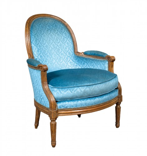 Louis XVI Bergère stamped BONNEMAIN, 18th century