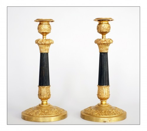 Royal torches from the Château de Neuilly - Lighting Style Restauration - Charles X