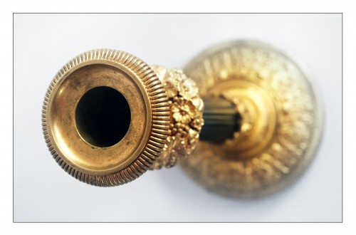 Royal torches from the Château de Neuilly -