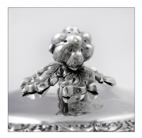 Antique Silver  - Silver drageoir by VEYRAT, Paris 1832-1840, Louis-Philippe period