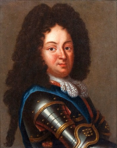 Portrait of Duc d'Orleans, Regent of France, after J.B SANTERRE, 18th c.