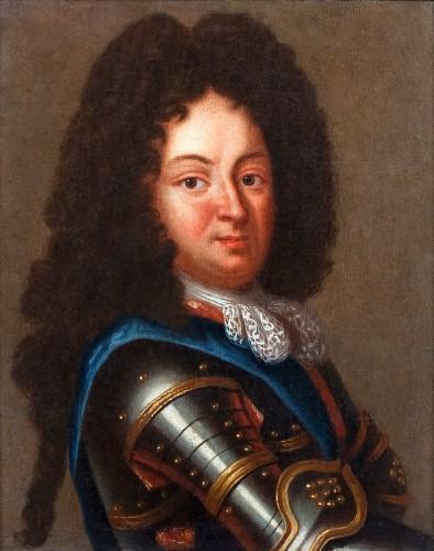 Portrait of Duc d'Orleans, Regent of France, after J.B SANTERRE, 18th c.