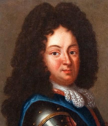 Paintings & Drawings  - Portrait of Duc d'Orleans, Regent of France, after J.B SANTERRE, 18th c.
