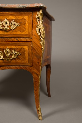 18th century - French Louis XV commode stamped Jacques BIRCKLÉ, 18th century