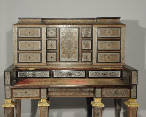 Bureau à gradin after a model by André-Charles BOULLE, Paris, 19th century - Furniture Style Napoléon III