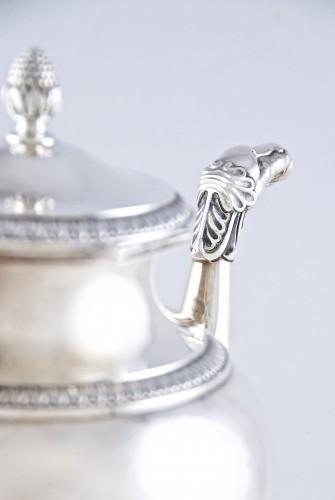 - CARDEILHAC Paris - tea coffee service in solid silver