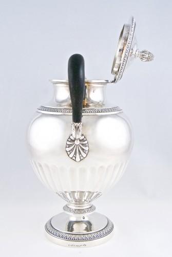 Antiquités - CARDEILHAC Paris - tea coffee service in solid silver