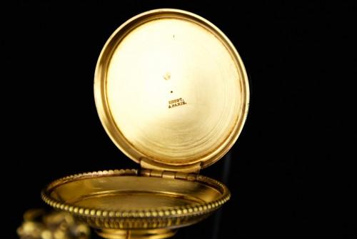 19th century - ODIOT goldsmith - Vermeil tea or coffee pot, Paris 1826-1838