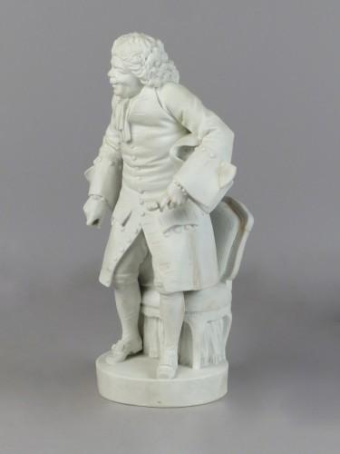 Eustache Pointu - porcelain biscuit Sèvres 18th century - Porcelain & Faience Style