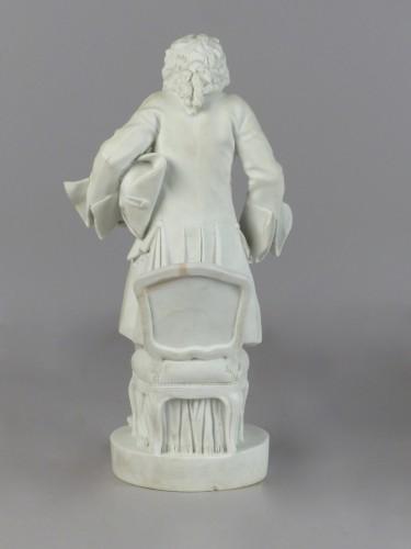 Eustache Pointu - porcelain biscuit Sèvres 18th century -