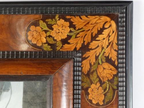 Mirror with inlaid decoration, Netherlands 17th century -