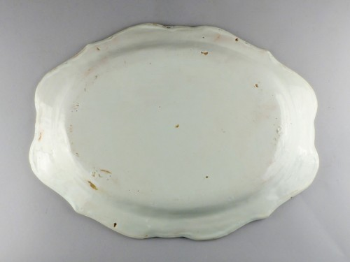 Moustiers faience platter, 18th century -