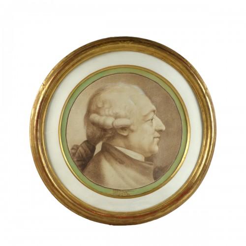 Johann Caspar LAVATER (1741-1801) - Portrait of a man