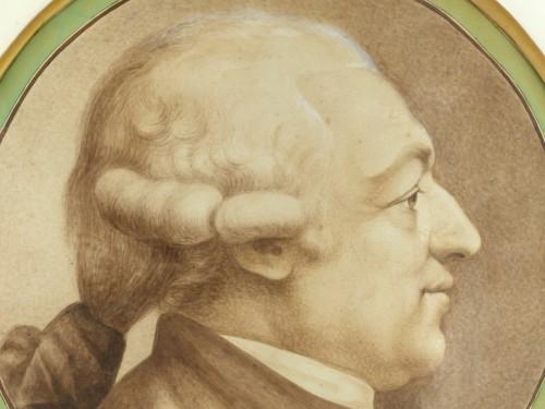 Paintings & Drawings  - Johann Caspar LAVATER (1741-1801) - Portrait of a man