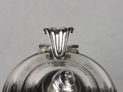 18th century - Small Rennes silver coffee pot , 18th century