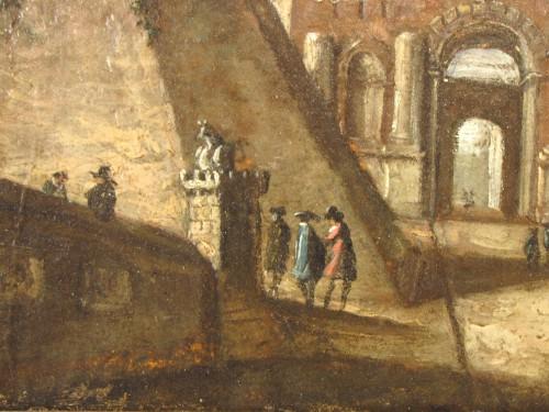 Pair of Rom vedute  -