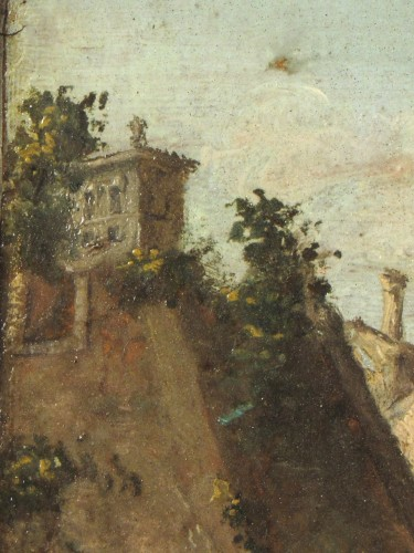 18th century - Pair of Rom vedute