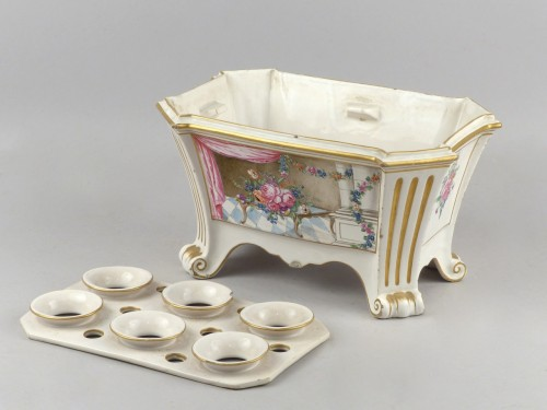 18th century - Luneville bought pot, 18th century
