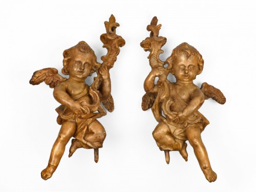 Pair of angels, Germany 18th century