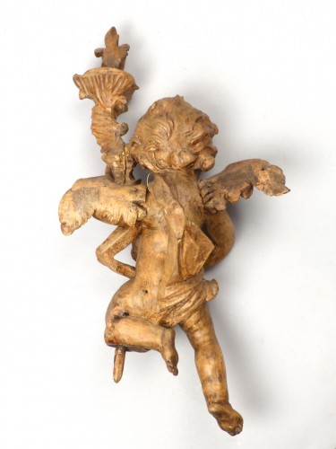 Sculpture  - Pair of angels, Germany 18th century