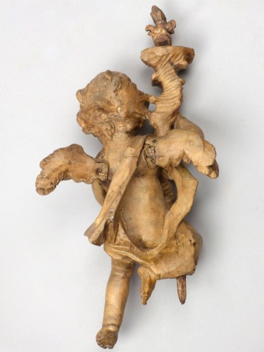 18th century - Pair of angels, Germany 18th century