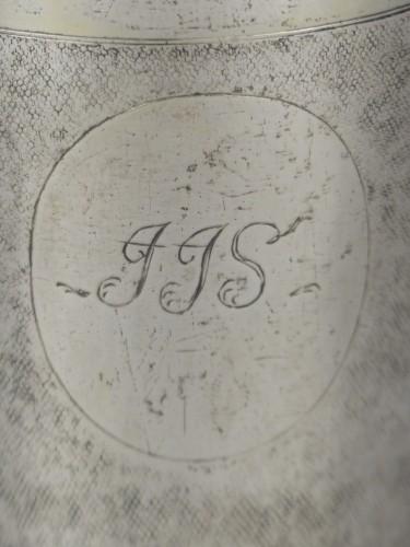 18th century - Danish gilded silver beaker, 1701