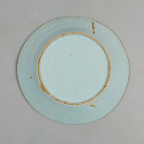 Porcelain & Faience  - Saint-Amand plates