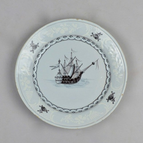 Saint-Amand plates - Louis XVI