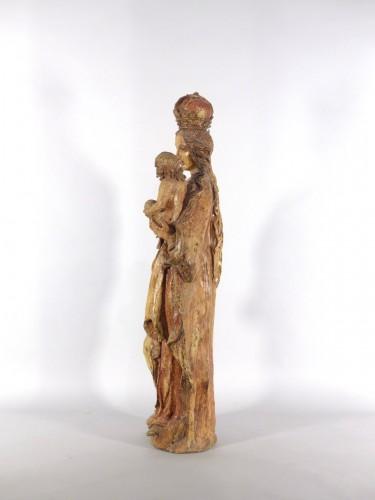 Sculpture  - Madonna and Child, Sarthe 18th century