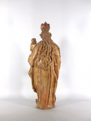 Madonna and Child, Sarthe 18th century -