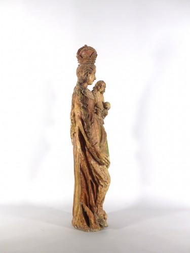 17th century - Madonna and Child, Sarthe 18th century
