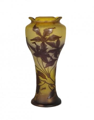 Large vase, Emile Gallé