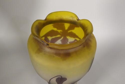 20th century - Large vase, Emile Gallé