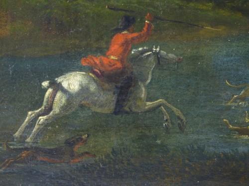 Paintings & Drawings  - Hunting scene
