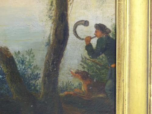 18th century - Hunting scene