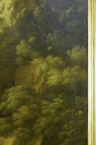 Tivoli's waterfall - Attributed to Jan Frans van Bloemen -