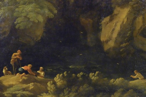 - Tivoli's waterfall - Attributed to Jan Frans van Bloemen