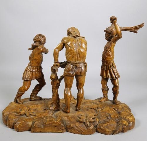 Flagellation of Christ - Sculpture Style