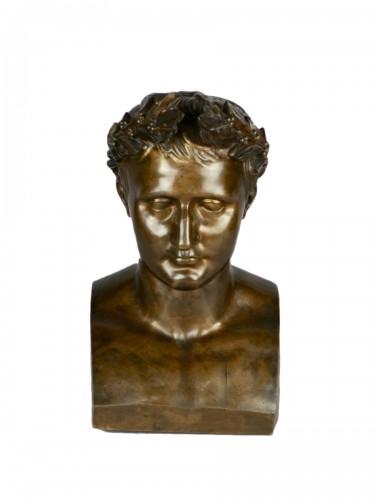 Bronze Napoleon bust, circa 1850