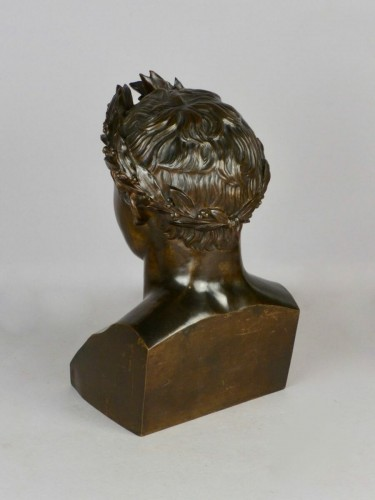 Sculpture  - Bronze Napoleon bust, circa 1850