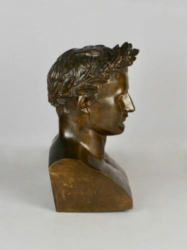 Bronze Napoleon bust, circa 1850 -