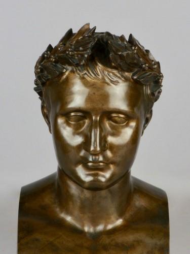 Napoléon III - Bronze Napoleon bust, circa 1850
