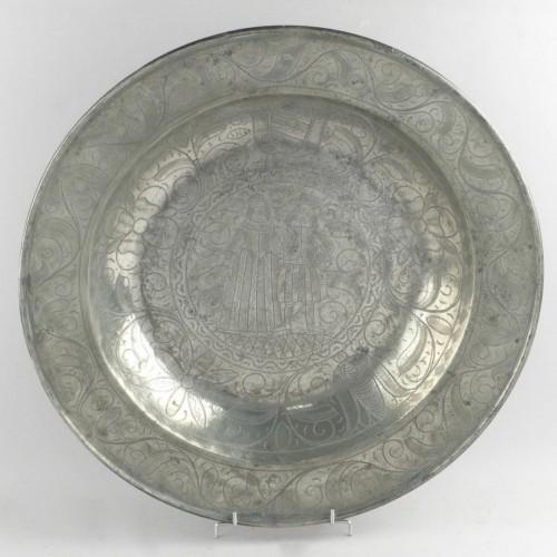 Wedding dish, Nuremberg  - Louis XIV