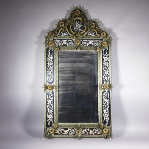Napoléon III - Looking glass, Murano, Venise