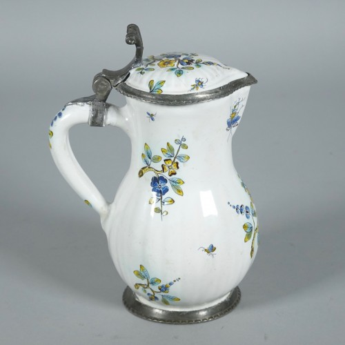 Porcelain & Faience  - Picher in faïence of Strasbourg