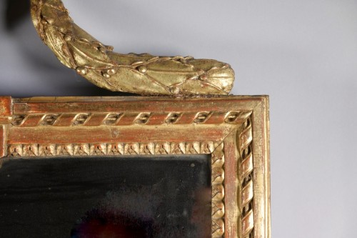 Neoclassical looking glass from Strasbourg -
