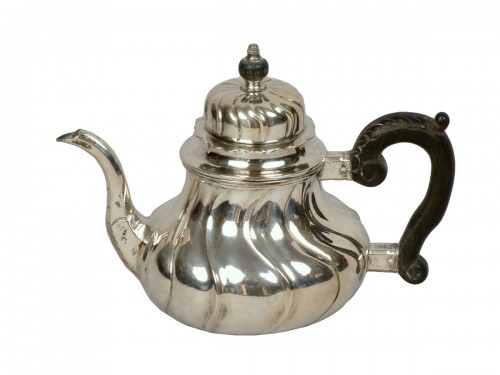Silver teapot, Cologne (Germany) 1746–1761